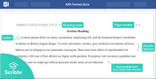 apa format for papers word google