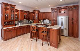 Kitchens With Cherry Cabinets Custom Kitchen Cabinet Cherry Wonderful Interior Design For Home