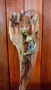 Debra Bernier. Driftwood SculptureTree SculptureDriftwood CraftsCarving ...