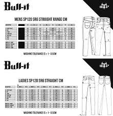 Bull It Jeans Size Chart Size Guide Bull It Jeans Bull It Fury Jeggings Size Guide