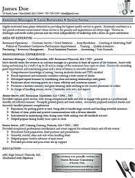Server Bartender Resume Free Resume Example And Writing Download