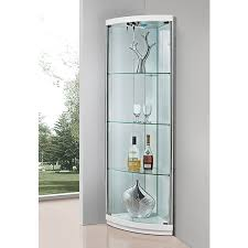 Glass Corner Display Units For Living Room Ideas