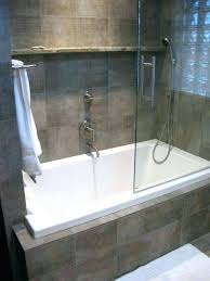 bathtubs and shower combo tub shower combo wonderful small tub shower combo with glass door