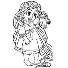 20 Mooie Rapunzel Kleurplaten Voor Uw Little Girl Momjunccom