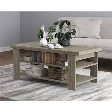 saf co coffee table 3 shelves