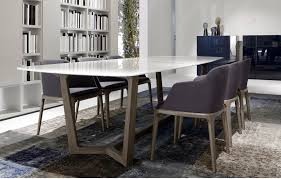 Dining Room : Brown Marble Table With Small Dining Table Set Also ...