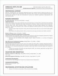 Resume Templates Rn Magnificent Registered Nurse Skills Resume Skills In A Resume Luxury Resume