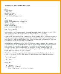 Medical Assistant Cover Letter Custom Entry Level Medical Assistant Cover Letter Cover Letter For Entry