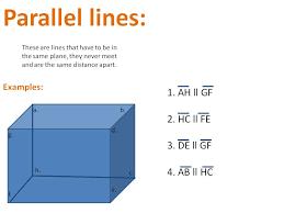 parallel planes. parallel planes u
