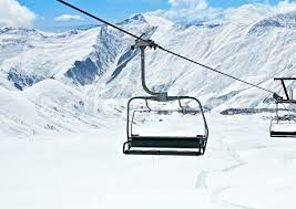 stunning ideas ski lift chair chairs on bright winter day stock photo colourbox