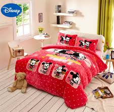 Mickey And Minnie Mouse Bedroom Minnie Mouse Bedding Sets Promotion Shop For Promotional Minnie