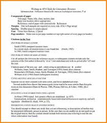 literature review example apa literature review template apa example l5 picture admirable style
