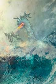 chinese digital art chinese water dragon by and mike werner