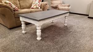 little house on the corner chalk paint coffee table makeover coffee table with storage coffee table
