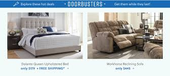 dolante queen upholstered bed and workhorse reclining sofa