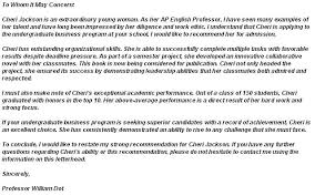 Letter Of Recommendation From Employer To College Top 6 College Recommendation Letter Templates Collegerag Intended