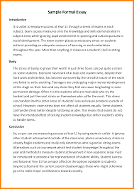 formal theme writing example co formal theme writing example
