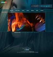 web template design software. Musician Web Templates Aria HTML5 Music Website Design