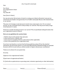 fundraising letters how to craft a great fundraising appeal example of a fundraising letter asking for auction items