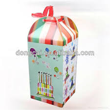 gift box for candles and balloons