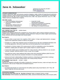 It Seems Hard To Make Database Administrator Resume That Has High