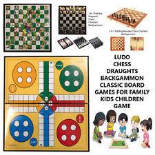 Wooden Board Games Uk Unbranded Wooden Vintage Board Games eBay 65