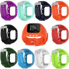10colors New <b>Replacement Silicone</b> Wrist Strap <b>Watch</b> Band For ...