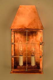 lantern wall sconce indoor copper candle