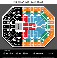 Target Center Seating Chart Amy Grant Michael W Smith Target Center