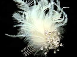 wedding hair accessories & feathers for your hair from Wedding Hair Pieces With Feathers wedding hair accessories & feathers for your hair from silkflowerwedding com Flower and Feather Hair Pieces
