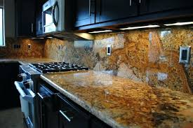 kitchen granite countertops finished installed