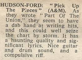 Pick Up The Pieces Chart 45cat Hudson Ford Pick Up The Pieces This Is Not The