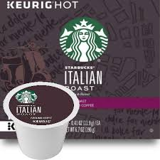 Each coffee requires a slightly different roast to reach its peak of aroma, acidity, body, and flavor. Starbucks Italian Roast Coffee K Cup Pod
