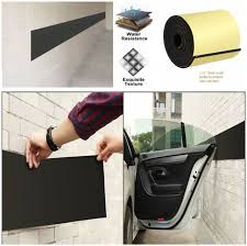 eluto 2 pack garage wall protector car door self adhesive foam parking 1 6 for