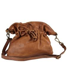 loretta vintage leather messenger bag