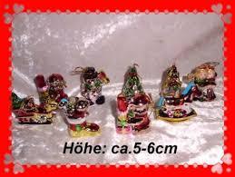 K 9x Christbaumschmuckweihnachtsbehang Aus Keramik