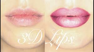 step by step fuller lips makeup tutorial