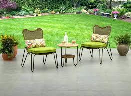 green plastic patio table