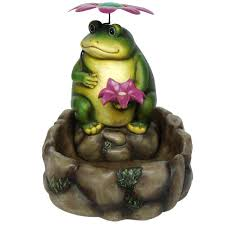 garden frog statues large