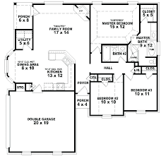 single floor house plan 5 bedroom 2 y house plans one story 5 bedroom house plans