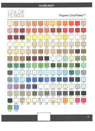 Weather Color Chart Color Chart Stampcrete