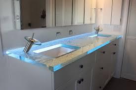 bathroom led lighting kits. Lighting:Amazing Glass Bathroom Counter Top From Gravity Glas Led Lighting For Bathrooms Remarkable Lights Kits