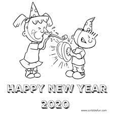 View and print full size. 22 Free New Year 2020 Coloring Pages Printable