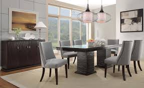 architecture amazing of contemporary dining table and chairs throughout modern room set idea 14 sets gray