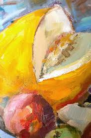 texture painting oil painting on canvas abstract oil still life stock photo