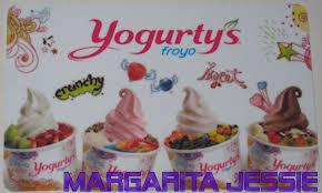 yogurty s froyo canada collectible gift card no value new frozen yogurt fruit ebay