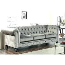 grey velvet sectional. Gray Velvet Sectional Sofa Grey Grand Chesterfield .