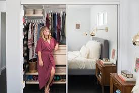 a master closet makeover for two