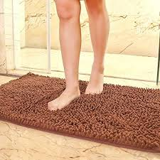 microfiber chenille bathroom rugs modern microfiber chenille bath mat soft fluffy bathroom rug rectangle washable rugs