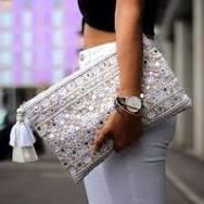 Bohemian <b>straw</b> purse with <b>color weave</b> | Girlfriend is Better
